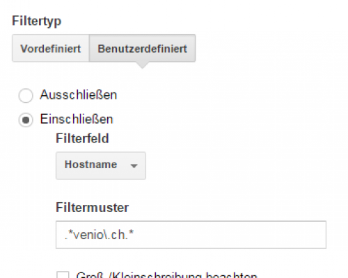 google-analytics-filter-eigener-hostname